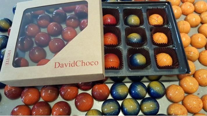Fruité - Boîtier de 9 chocolats