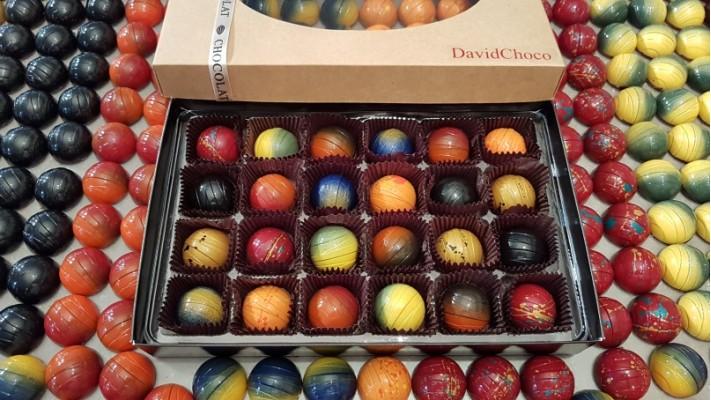 Vingt-quatre - Boîtier de 24 chocolats