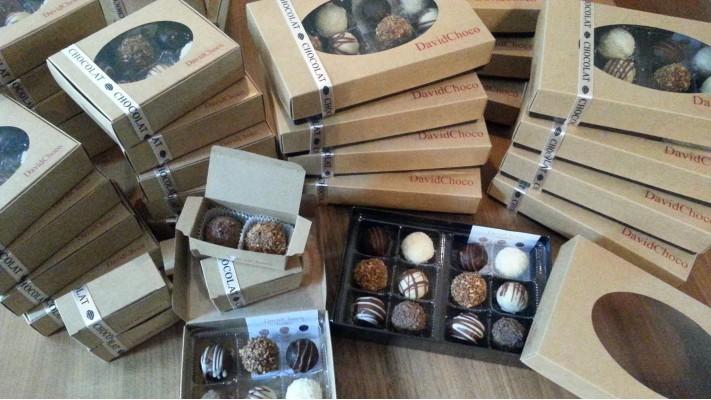 Truffes (12) - Boîtier de 12 truffes