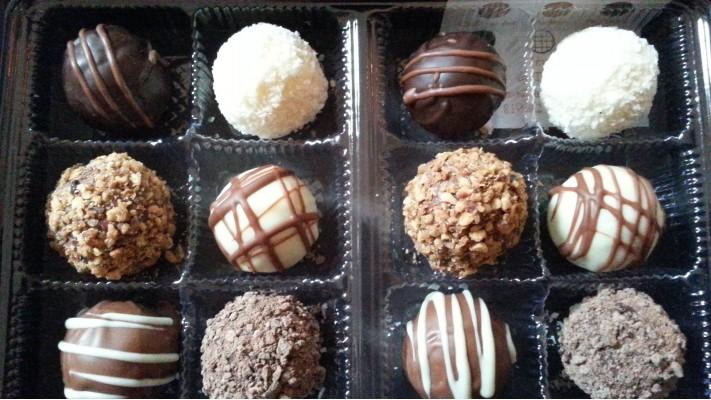 Truffes (6) - Boîtier de 6 chocolats
